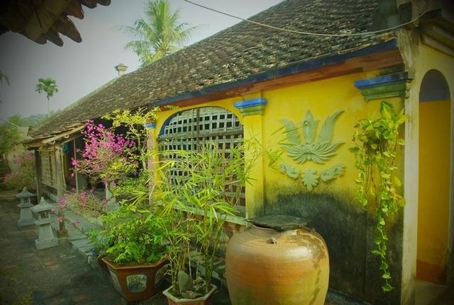 Một góc nhỏ ở làng Đông Sơn. (Ảnh: Lê Dương)