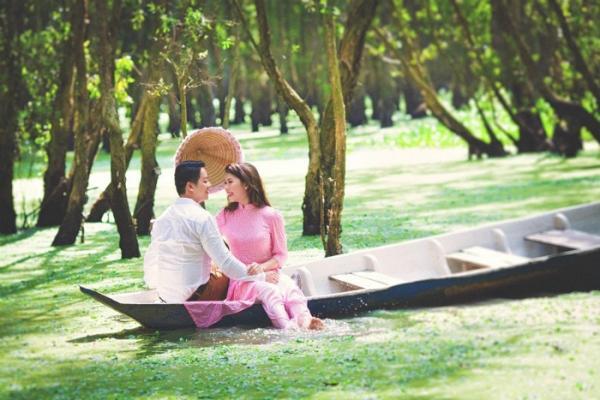 Rừng tràm Trà Sư - điểm hẹn chụp ảnh cưới độc đáo ở miền sông nước. (Nguồn: Phạm Võ Duy Tân)
