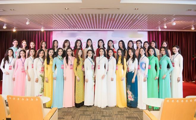Top 31 thí sinh của HHVN 2018.