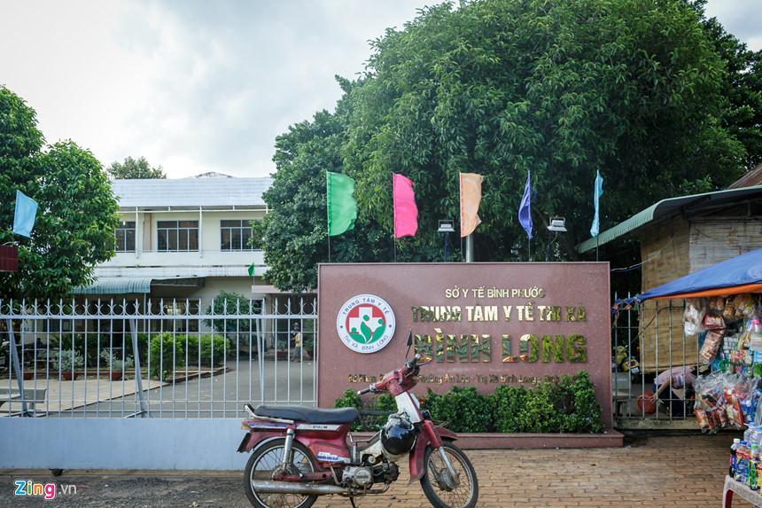 Khoa Sản, Trung tâm y tế thị xã Bình Long, nơi xảy ra vụ việc trao nhầm con.