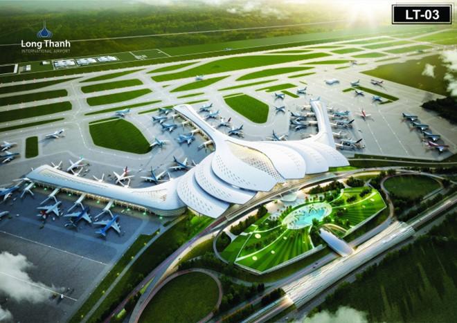 Sân bay Long Thành sẽ trở thành một trong những trung tâm trung chuyển vận tải hàng không tại khu vực Đông Nam Á.