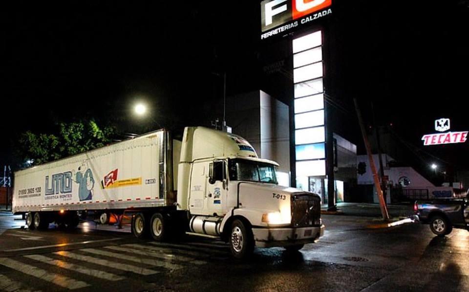 Toa xe container chứa thi thể người tại bang Jalisco