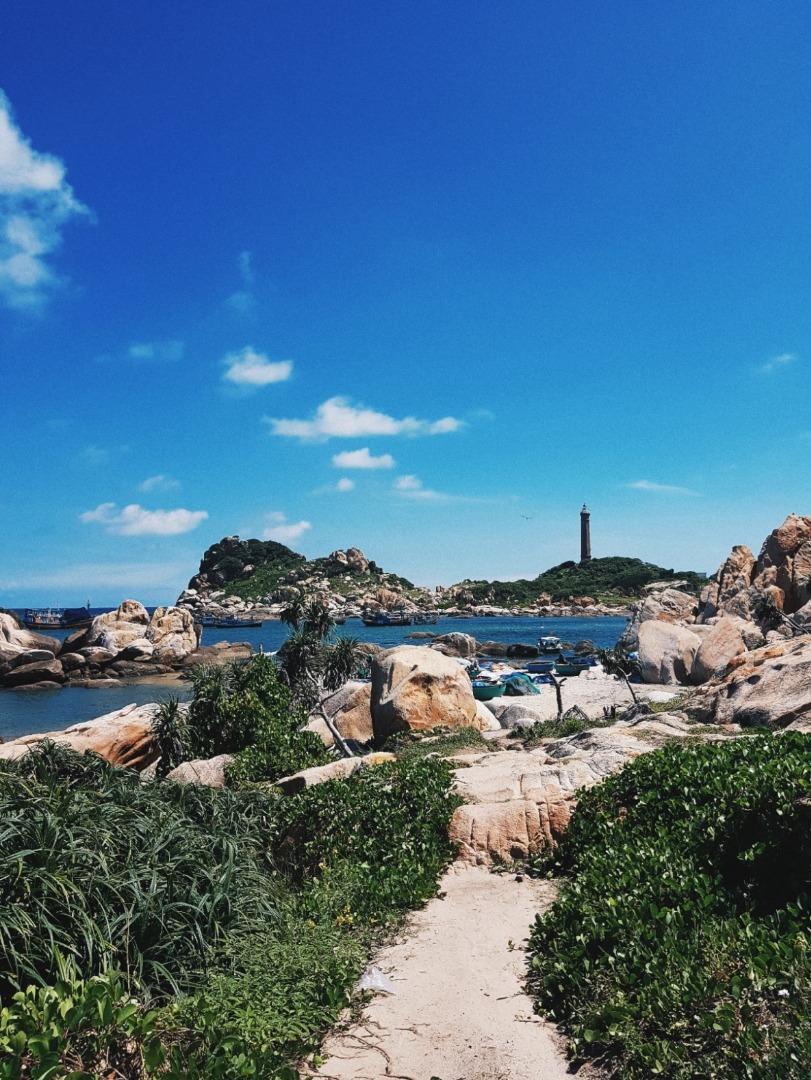 Một bức tranh tuyệt đẹp nơi hòn đảo hoang sơ