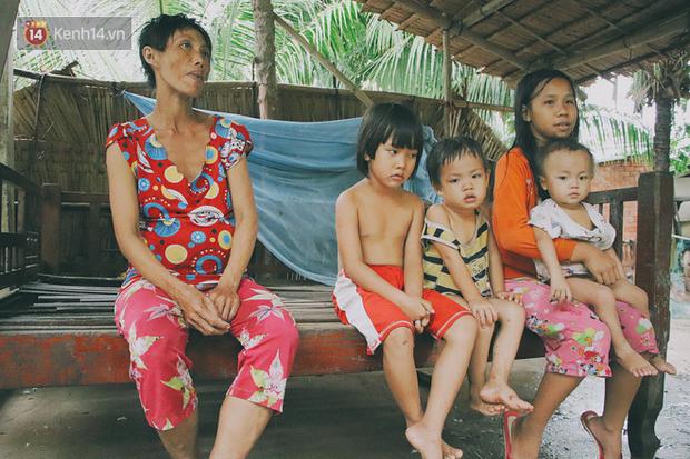 Chị Yểm mong có đủ cơm ăn, áo mặc cho những đứa con, chị cũng sẽ triệt sản để không sinh nở nữa.