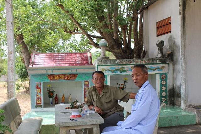Ông Tám Chung và ông Ba Tuyền kể lại sự việc