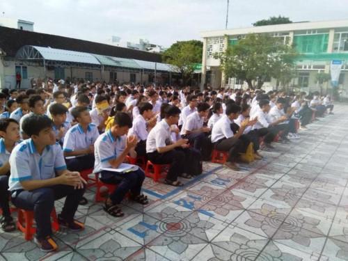 Học sinh Cà Mau tham gia kỳ thi học sinh giỏi THPT cấp tỉnh.