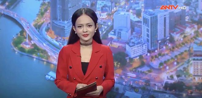 Thanh Trúc 9x là BTV, MC thời sự quen thuộc của kênh ANTV.