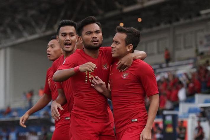 U22 Indonesia giành vé vào bán kết và sẽ đối đầu Myanmar.