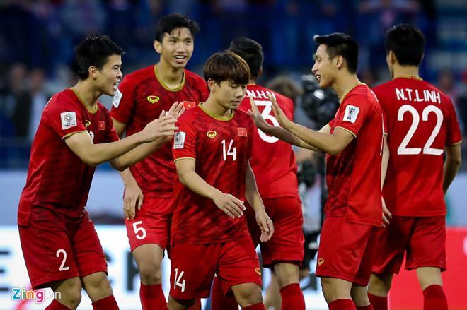 Tuyển Việt Nam đang chơi rất hay tại Asian Cup 2019.