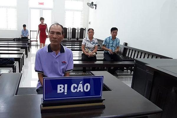 Bị cáoNguyễn Văn Túy tại tòa