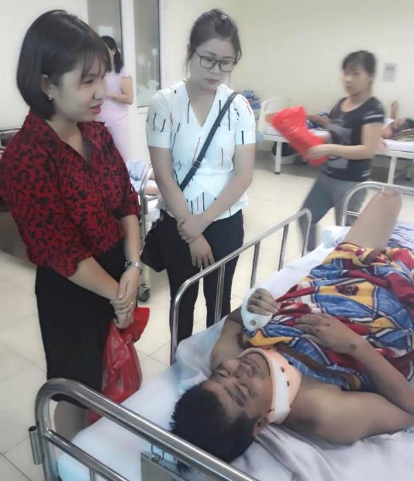 Thời điểm anh May điều trị tại Bệnh viện Việt Đức
