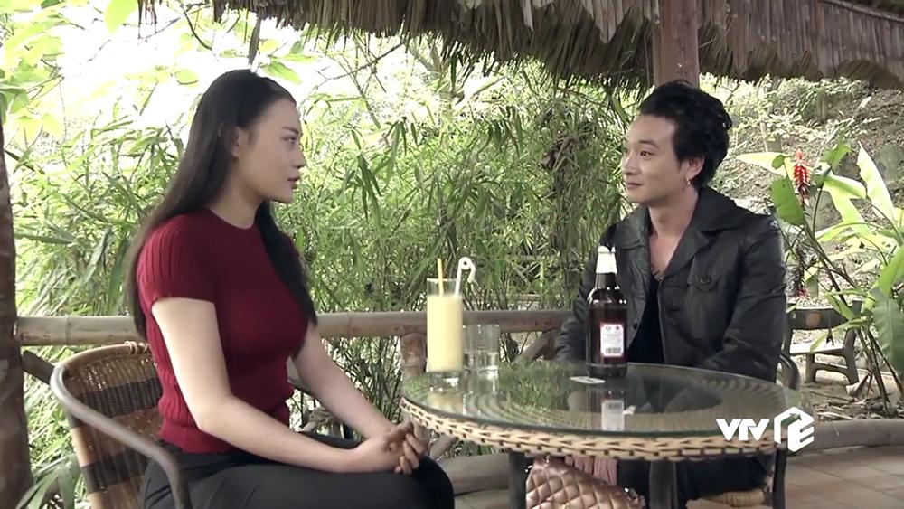 Phong hẹn Quỳnh đi uống cà phê và ngỏ lời muốn cưới Quỳnh làm vợ