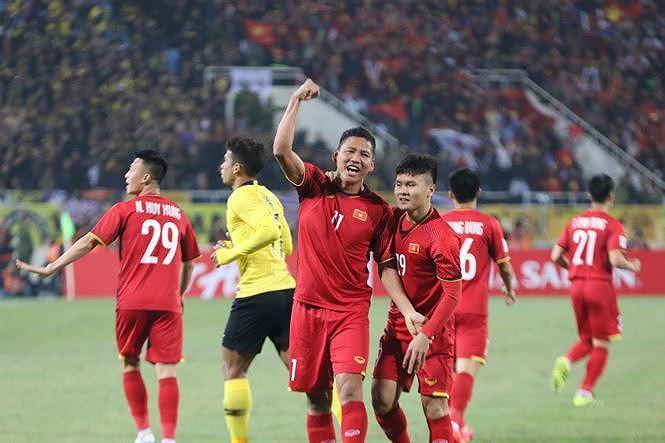 Anh Đức ghi bàn duy nhất đem về chiến thắng 1-0 cho tuyển Việt Nam trước Malaysia