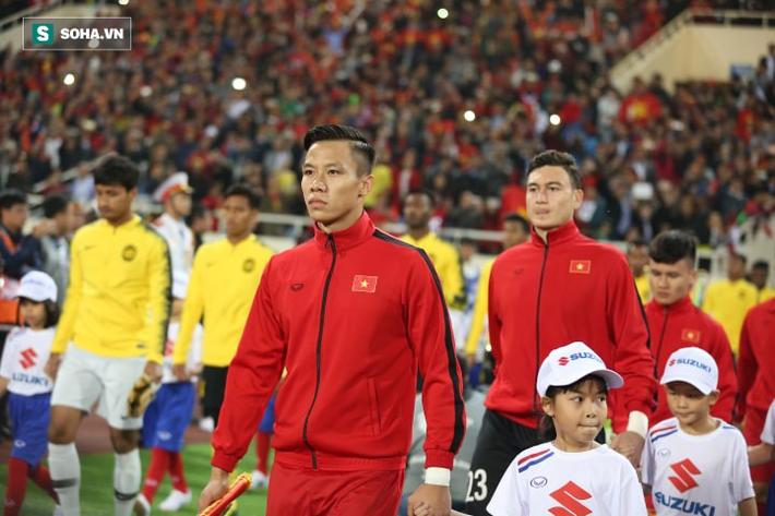 Quế Ngọc Hải hoàn thành tốt nhiệm vụ tại AFF Cup 2018.