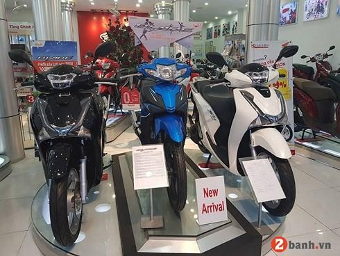 Nhiều mẫu xe Honda tăng giá bán khá mạnh dịp cận Tết.