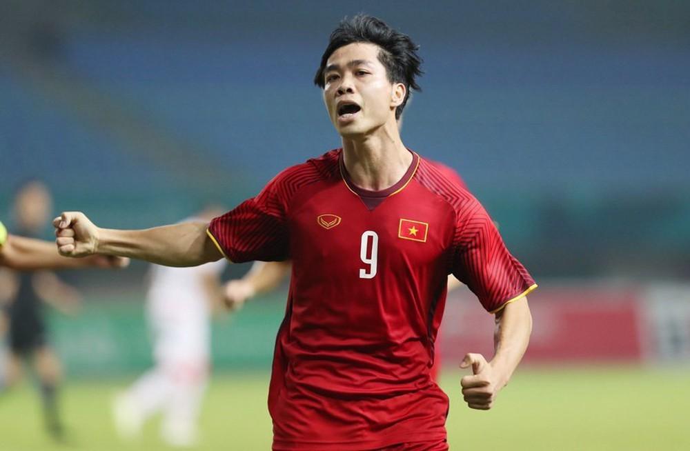 Cầu thủ Công Phượng. Ảnh: VietNamNet.