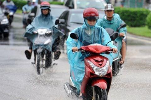 Miền Bắc và Bắc Trung Bộ sắp đón mưa diện rộng. Hình minh họa