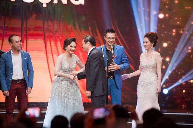 Bảo Thanh trong lễ trao giải VTV Awards 2017