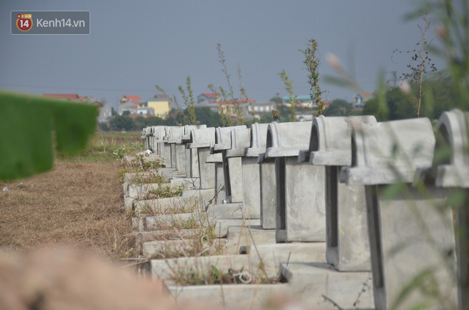 Hình ảnh nghĩa trang thai nhi mà vị trụ trì chùa Mục Đồng chôn cất thời gian qua.