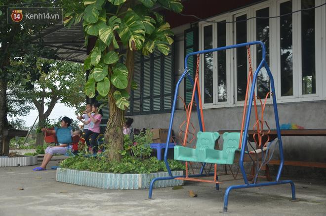 Cơ sở vật chất phục vụ cuộc sống của các cháu bé.