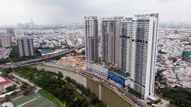 Thị trường căn hộ tại TP.HCM sôi động hơn Hà Nội với số giao dịch tăng trung bình 44%/năm trong 5 năm qua. Ảnh:Quỳnh Danh.