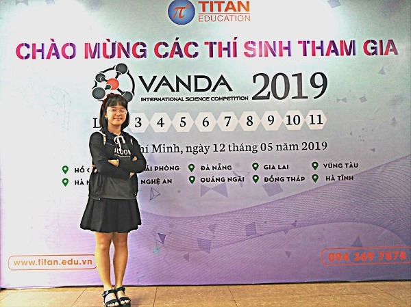 Bảo Ngân sẽ sang Malaysia dựtoán IJMO và cuộc thi Khoa học (VANDA) vào cuối tháng 7