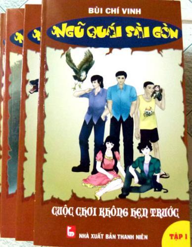 Bìa tập Ngũ quái Sài Gòn.
