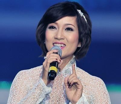 Ca sĩ Thanh Thúy.