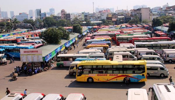 Các bến xe lớn tại TP Hồ Chí Minh sẵn sàng phục vụ nhu cầu đi lại của người dân dịp Tết.