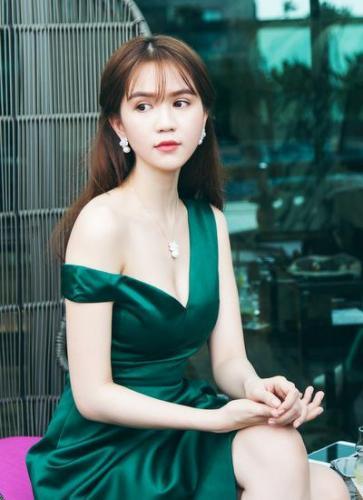 Người đẹp Trà Vinh Ngọc Trinh ( ảnh : baodatviet.vn )
