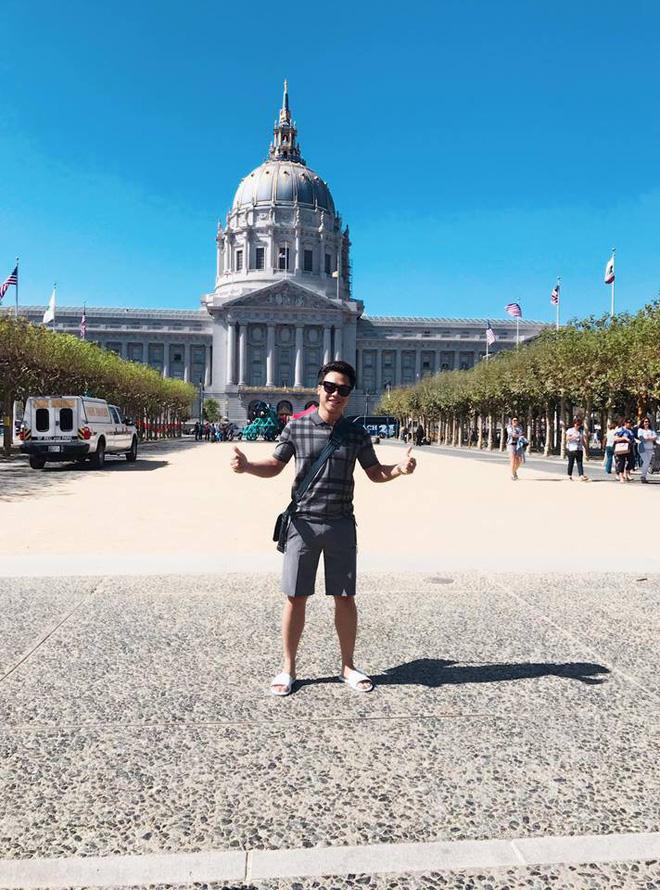 Bạn trai Hòa Minzy thường xuyên có những chuyến đi du lịch nước ngoài.