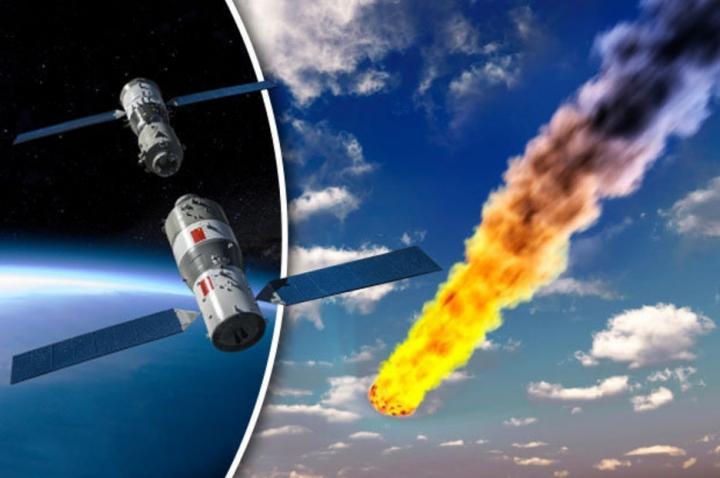 Trạm Thiên Cung 1 đã mất kiểm soát từ năm 2016 và  đang rơi tự do về phía trái đất
