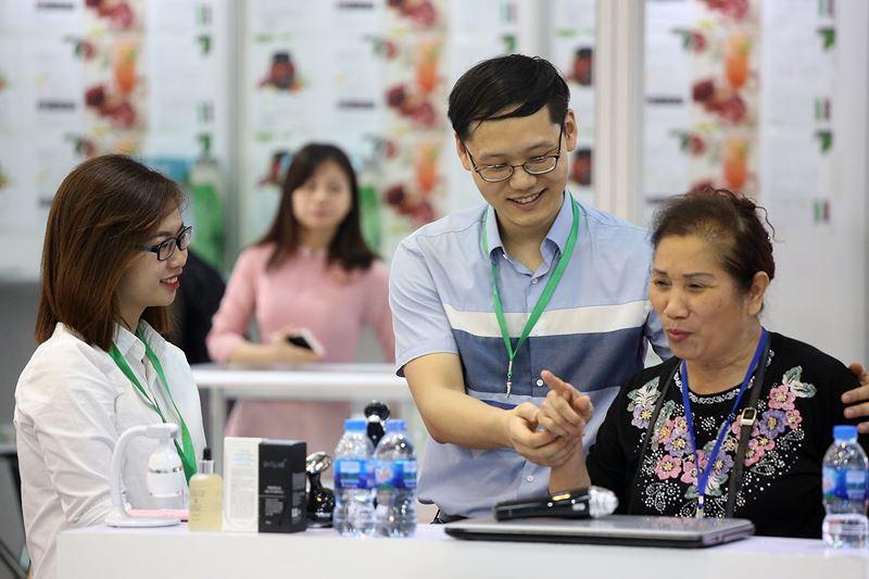 Vietnam Expo 2018 là sự kiện xúc tiến thương mại quan trọng của nhiều công ty trong và ngoài nước.