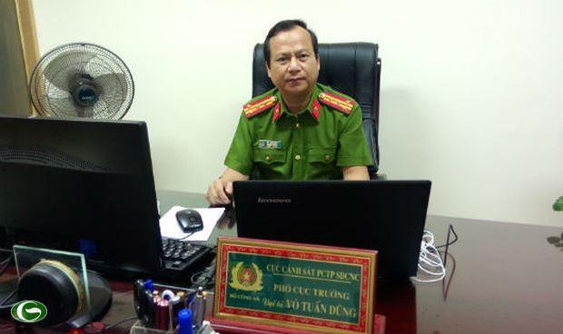 Đại tá Võ Tuấn Dũng, Phó Cục trưởng Cục Cảnh sát phòng chống tội phạm sử dụng công nghệ cao (C50, Bộ Công an) (ảnh:quochoi.org)