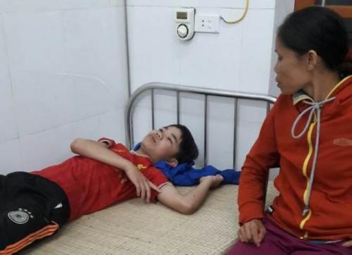 Hiện nạn nhân Mạnh đã hồi phục sức khoẻ. Ảnh: VOV