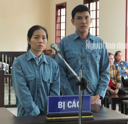 Bị cáo Phạm Thanh Sang và bị cáo Trần Thị Xen