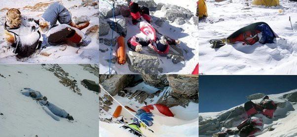 Ngọn núi Everest hiện là