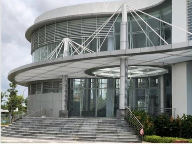 Cơ sở mới của BV huyện Bình Chánh. Ảnh: CTV
