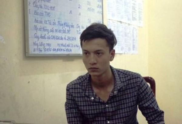 Nguyễn Hải Dương chủ mưu vụ sát hại cả gia đình đại gia Bình Phước thời điểm bị bắt.