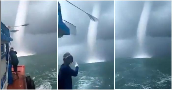 Trung tâm Dự báo khí tượng Thủy văn quốc gia cho hay vòi rồng hoàn toàn không liên quan đến cái gọi là điềm báo.