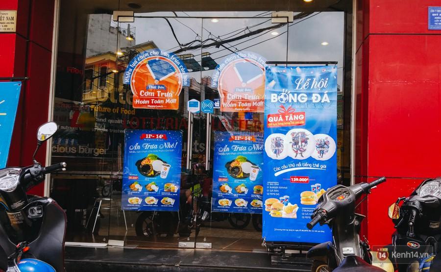 Một quán ăn nhanh ở quận Gò Vấp