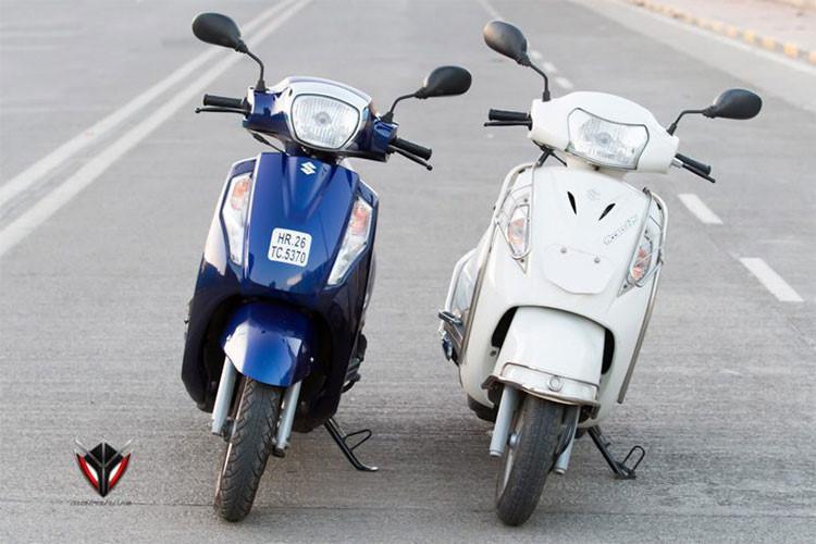 Access 125 phiên bản mới được nhà sản xuất Suzuki tại Ấn Độ cập nhật để đáp ứng các tiêu chuẩn khí thải mới sắp tới tại thị trường này khi mà tất cả các xe hai bánh tại đây đều phải đạt tiêu chuẩn khí thải BSIV. có giá khởi điểm 58.980 Rupee (tương đương 20 triệu đồng), trong khi đó phiên bản đặc biệt Suzuki Access 125 SE 2018 có giá 20,5 triệu đồng.