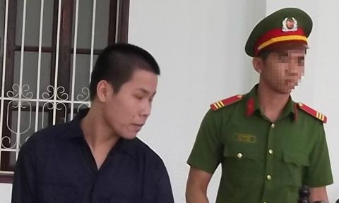 Bị cáo Phan Quốc Vĩnh tại phiên xét xử