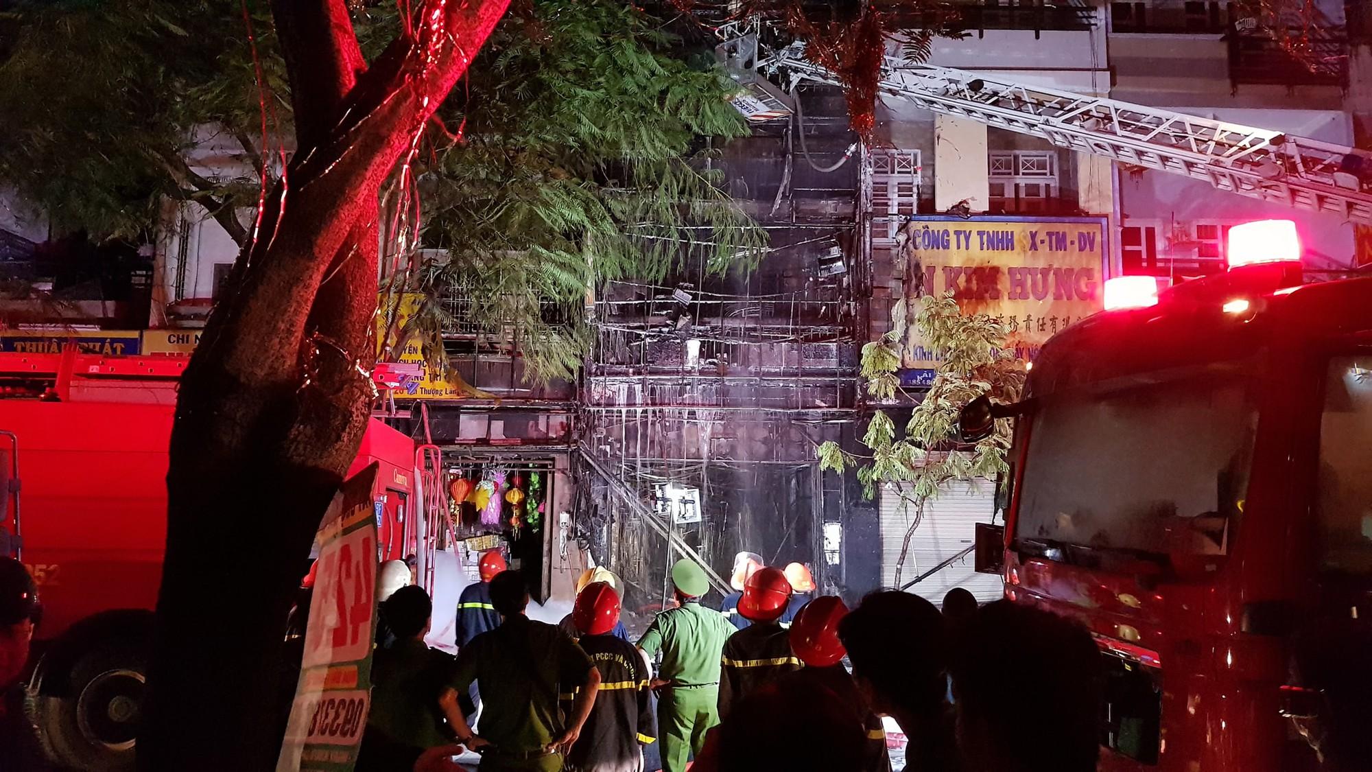 Vụ cháy may mắn không có thiệt hại về người - Ảnh: FB N.K.T
