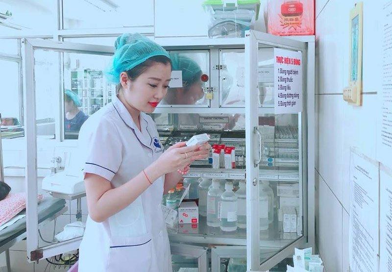 Nữ hộ sinh Nguyễn Thị Mai Linh (SN 1991 - BV Phụ sản Hà Nội).