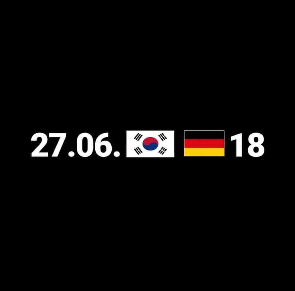 Hôm qua là một ngày đi vào lịch sử của đội bóng xứ Hàn. 27/06/2-2018.