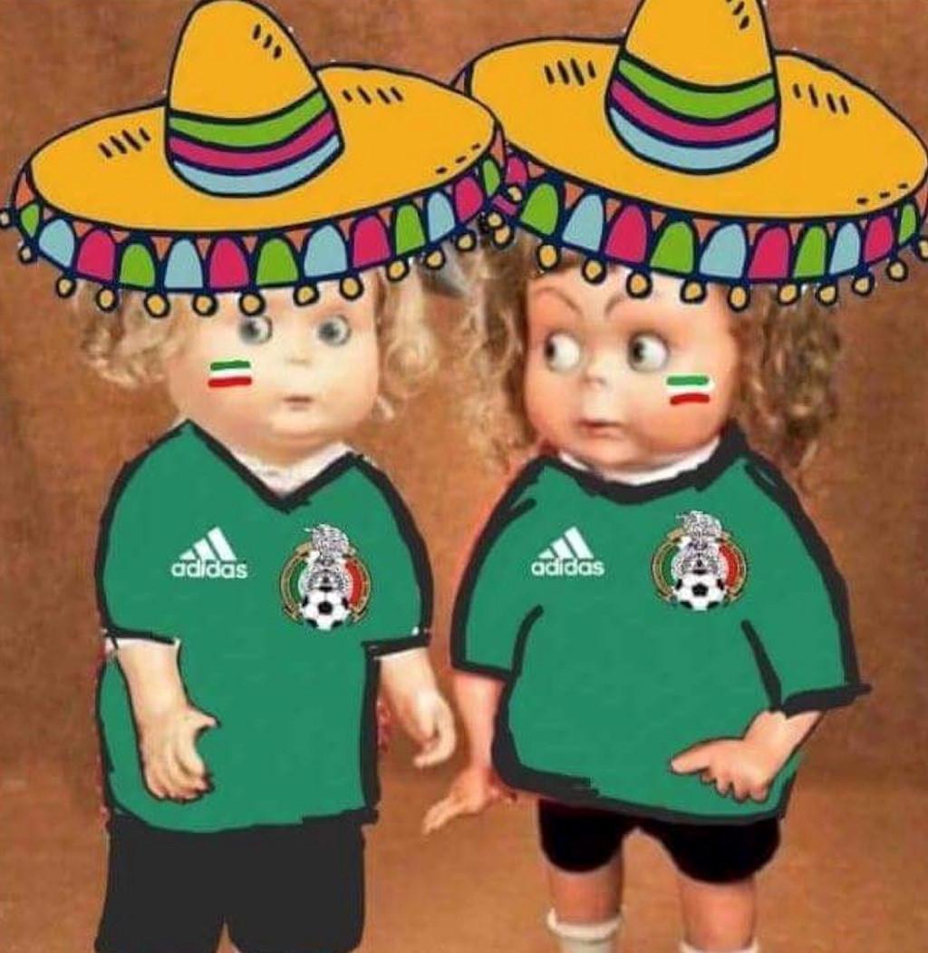 Các cổ động viên Mexico đã được cứu bởi Hàn Quốc.