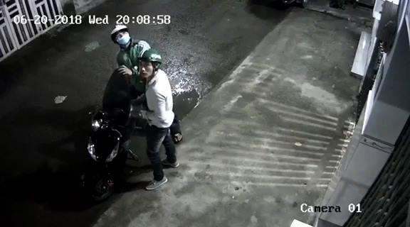Hình ảnh đối tượng Hùng cùng đồng bọn đi trộm xe trước đó