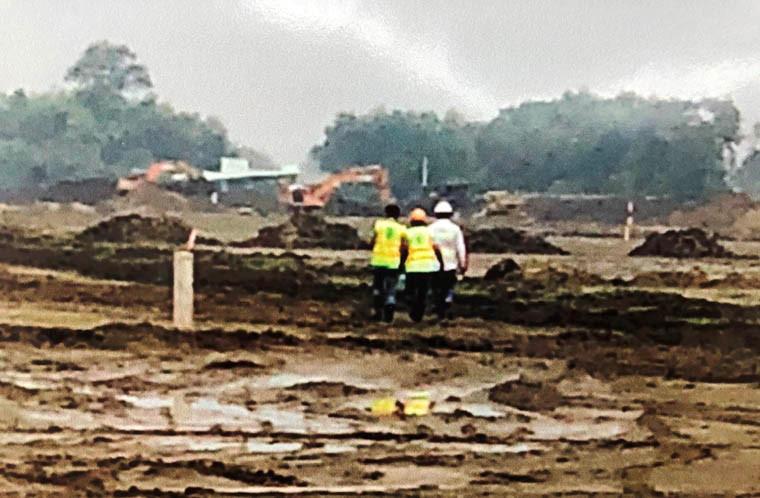 Hiện trường ở Trảng Bom, tỉnh Đồng Nai, nơi 2 đối tượng Thành và Giang sau khi nghiên cứu, chế tạo quả nổ đã từng đem thử.