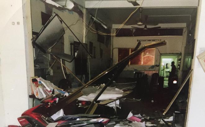 Một vụ nổ tại trụ sở công an trước đó. Ảnh: M.T